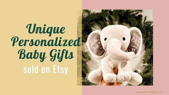 Unique Personalized Baby Gifts on Etsy