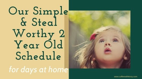 2 year old schedule at home