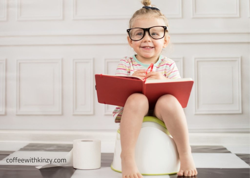 Tips for getting your toddler to release on the potty